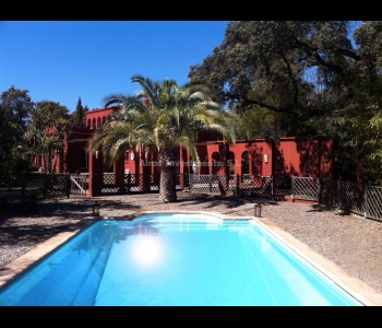 Villa estilo árabe en Sanlúcar la Mayor